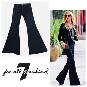 7FAMK High Rise Wide Flared Bell Bottoms SZ 31